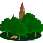 Замок и лиса