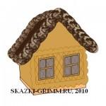 Съедобный домик из печенья и пряников