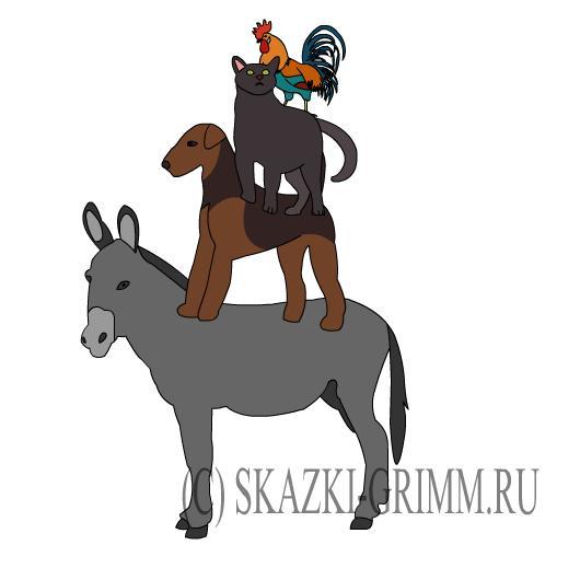 Бременские музыканты - Лукошко сказок